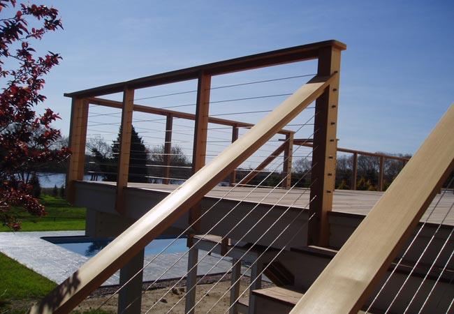 Cape Cod Deck Railing Project American Metal Specialties