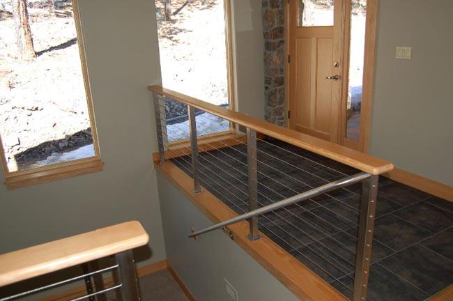 A Subtle Elegant Stairway Surround