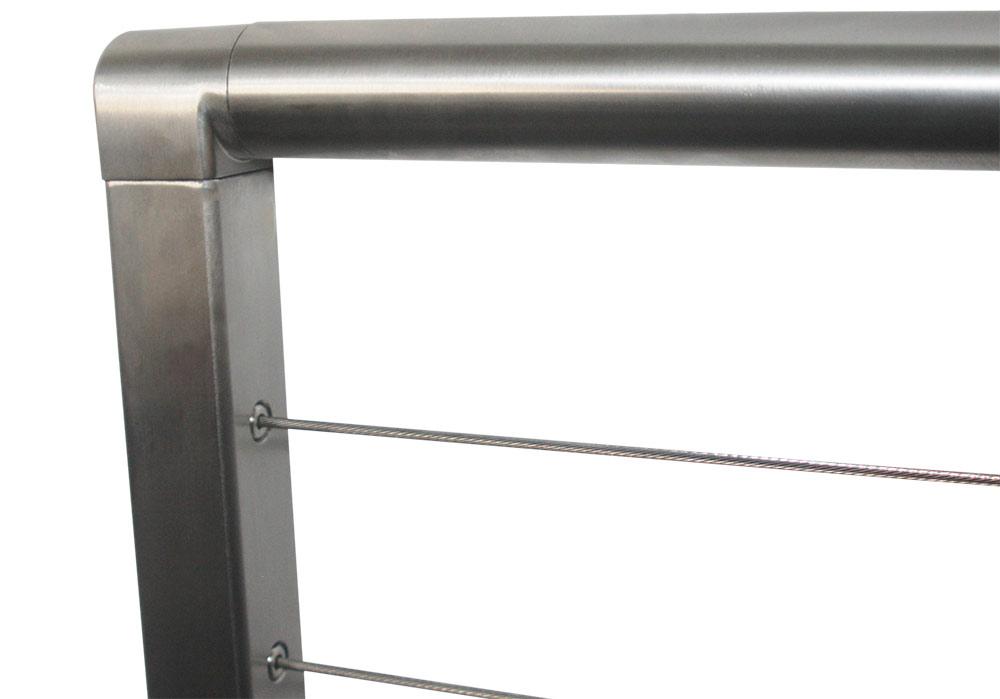 Stainless Steel Top Rail